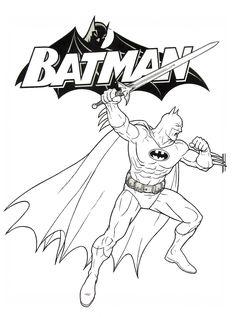 46 best Batman Coloring Book Pages images on Pinterest | Batman ...