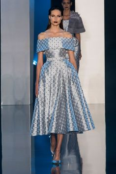 Ralph & Russo Couture Autumn/Winter 2014 - pearl studded dress