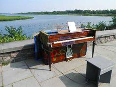 Pop-Up Piano Unveiled At Salt Marsh Center - Sheepshead Bay News Blog