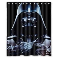 Flower Power Funny Stormtroopers Pattern Custom Waterproof Polyester Fabric Bathroom Shower Curtain With 12 Hooks 60w X 72h Decor By Qearl