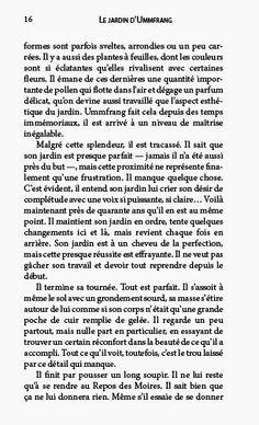 """Premier extrait de Bizarro - Une page de """"Le jardin d'Ummfrang"""" de Dave Côté."""