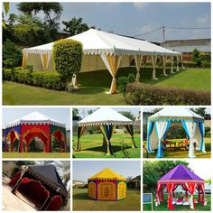 Garden Tents For Sale – Looking for garden tents manufactures in India? Sangeeta International offers luxury garden tents at affordable rates. Mandap Design, Luxury Tents, Tent Sale, Delhi India, Camping Life, Glamping, Gazebo, Wedding Decorations, Marriage