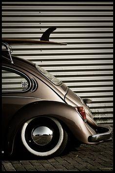Surf Beetle - like the little iron cross sticker