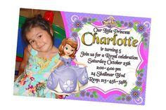 Sofia the First Invite