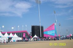 Riverbank Arena. Date should have shown Sept 3, 2012