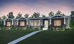 Clayton Homes Of Georgetown Manufactured Or Modular House Details For THE HAMPTON Home