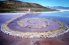 Spiral Jetty (Rozel Point/ Utah): http://curious-places.blogspot.com/2016/05/spiral-jetty-rozel-point-utah.html