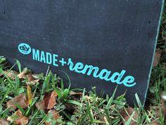 DIY Chalkboard Sandwich Board >> http://blog.diynetwork.com/maderemade/2014/09/29/diy-chalkboard-sandwich-board/?soc=pinterest