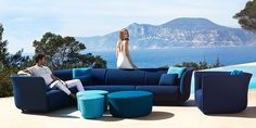 Outdoor Life, Outdoor Spaces, Outdoor Living, Visual Merchandising, Sofa Design, Furniture Design, Furniture Ideas, Luxury Branding, Branding Design