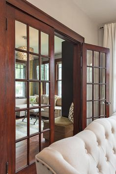 Beautiful 1920s House Tour - Its Overflowing KMP - Very much like the French doors in the 2 by 4 ! :)