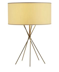 this intricate table lamp was inspired by the modernist works of akari noguchi the intersecting akari furniture
