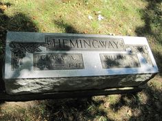 William Sohmer Hemingway (1872 - 1945) - Find A Grave Photos   William Sohmer Hemingway Memorial Photos Flowers Edit Share Learn about removing the ads from this memorial... Birth: Aug. 18, 1872 Goodison Oakland County Michigan, USA Death: May 28, 1945 Otter Lake Lapeer County Michigan, USA    Family links:   Parents:   Ernest Needham Hemingway (1849 - 1929)   Ann Toppan Harris Hemingway (1851 - 1939)    Spouse:   Clarissa A Coe Hemingway (1875 - 1947)*    Siblings:   Albert Clarence…