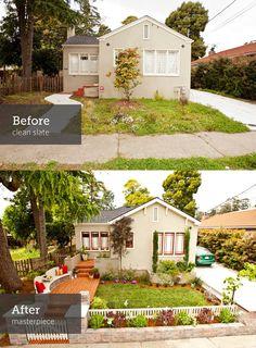 Home exterior makeover