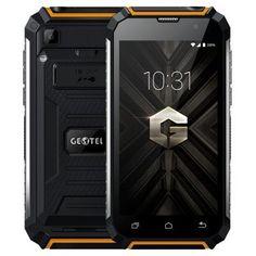 GEOTEL G1 3G Smartphone 2GB 16GB Android 7.0 5.0 inch 7500mAh Power Bank Function Black & Orange
