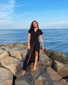 "Alloy Tall Apparel on Instagram: ""Tall babe @natattackz_ enjoying the sunshine in our Tall Short Sleeve Maxi Dress 💛 #myalloy #tallgirlstyle"""