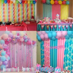 1 million+ Stunning Free Images to Use Anywhere Candy Theme Birthday Party, Rainbow Birthday Party, Unicorn Birthday Parties, Birthday Balloons, Unicorn Party, Birthday Decorations At Home, Anniversary Decorations, Balloon Decorations Party, Balloon Garland