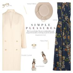 """""""It's That Kind Of Day"""" by amberelb ❤ liked on Polyvore featuring MSGM, Pippa Small, Brunello Cucinelli, Steve Madden, Marni and Yestadt Millinery"""