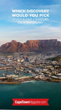 Get your car serviced while you discover Cape Town.