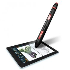 Marvel Entertainment and Disney Consumer Products have announced they have teamed up to launch a fun new device - the Marvel Creativity Studio Stylus and app.