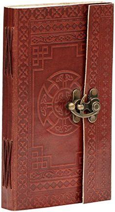 carnet voyage offre – SouvNear 23.6 cm Carnet de notes en cuir marron Cuir Véritable Ethnique Journal, Notebook, Sketchbook 120 fait à la…