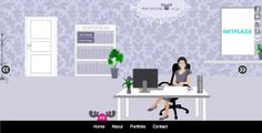 Pink Moose design website example of #gamification #website #graphic #ux #design [ Pink Moose design | UX design agency ]