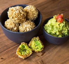 Chip-Coated, Fried Guacamole Takes Dipping out of the Equation
