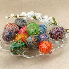 elegant russian eggs
