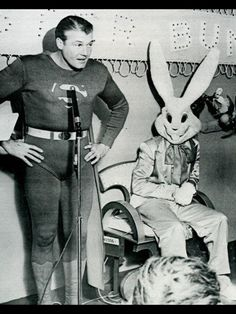 what's with the creepy bunnies?
