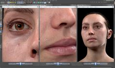 Arnold Rendering a Photorealistic Portrait in Cinema 4D, Arnold Does Emily, Arnold Rendering, Cinema 4D, Arnold Renderer, c4d