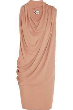 Lanvin|Draped crepe dress|NET-A-PORTER.COM