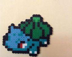 Bulbasaur - Pokemon Perler Bead Pixel Art