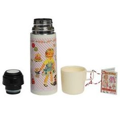 Dress-Up Dolly Flask and Cup by Rex Int.