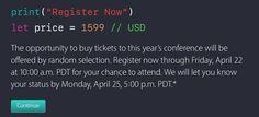 Apple Launches WWDC 2016 Ticket Lottery - https://www.aivanet.com/2016/04/apple-launches-wwdc-2016-ticket-lottery/