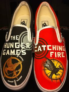 Hunger Games & Catching Fire shoes