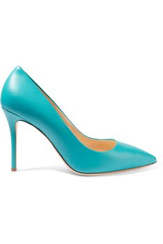Shop on-sale Giuseppe Zanotti Leather pumps. Browse other discount designer Pumps & more on The Most Fashionable Fashion Outlet, THE OUTNET.COM
