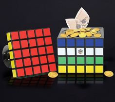 Buy Rubik's Cube Safe today at IWOOT. We have great prices on gifts, homeware and gadgets with FREE delivery available. Rubix Cube Games, Cubes, Money Safe, Maze Puzzles, Gadgets, Secret Box, Rubik's Cube, Secret Compartment, Innovation Design