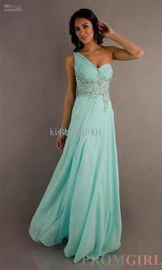 Cool one shoulder mint green prom dresses 2018/2019 Check more at http://myclothestrend.com/dresses-review/one-shoulder-mint-green-prom-dresses-20182019/