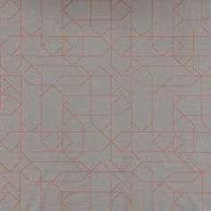 Cotton grey w powder graphic pattern - Stoff & Stil Graphic Patterns, Rugs, Sewing, Fabric, Prints, Cotton, How To Make, Bomull, Home Decor