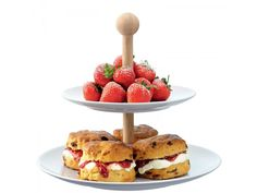 Tiered Cakestand & Oak Stem from Passuluna Shop.  Use coupon code PassuPin10 for 10% off your order