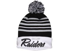 c689696a21380 2017 Winter NFL Fashion Beanie Sports Fans Knit hat Oakland Raiders Beanie