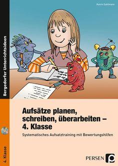 Aufsätze planen, schreiben, überarbeiten - Kl. 4 - Buch