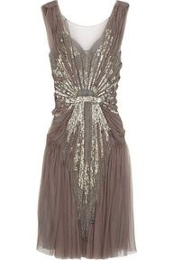 Great Gatsby inspired Dress