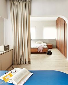 Master Suite, Master Bedroom, Barbecue Pit, Study Areas, Cat Room, Royal Blue Color, Stylish Bedroom, Block Wall, Pet Furniture