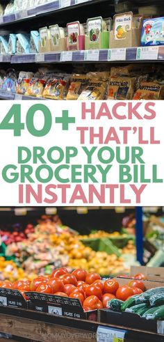Essential list of hacks and ideas to do frugal grocery shopping on a budget. Loved that it wasn't only about coupons and had suggestions for healthy food for the entire family. No matter for two or for four, these tips will help me save money on food staples and groceries at the store. #savemoney #budgeting #budgetfriendly #grocery #food