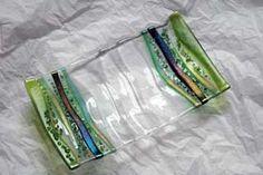 slumped glass plate