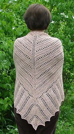 Ravelry: Hills and Valleys Lace Shawl pattern by Elaine Phillips