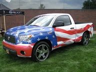 Check out this very American Toyota.
