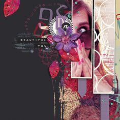 Bold & Beautiful Collection Biggie Digital Scrapbooking Kit by Brandy Murry | ScrapGirls.com