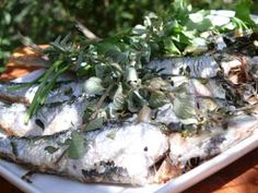 RECIPE FROM SPAIN: Baked Sardines with Garlic and Oregano