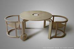 Furniture for children. Jakub Blazejowski design.